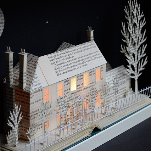 'Yew Tree House, West Sussex', light box, detail