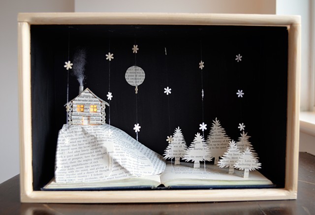 'Log Cabin' lightbox