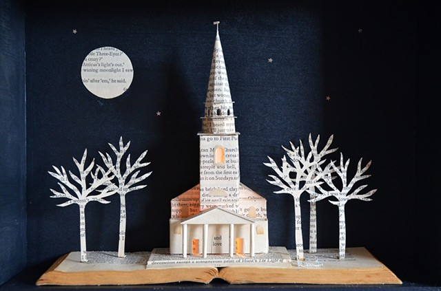church lightbox christening gift