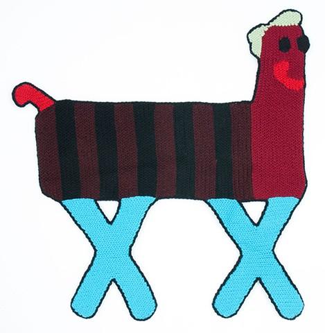black striped centaur