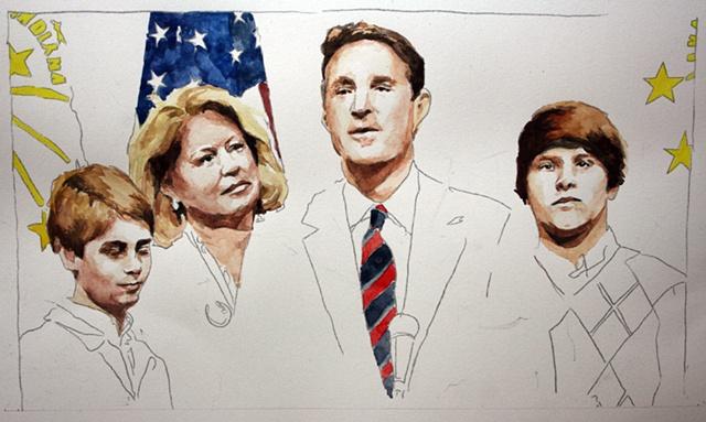 Feb. 16, 2010: Evan Bayh Quits Senate