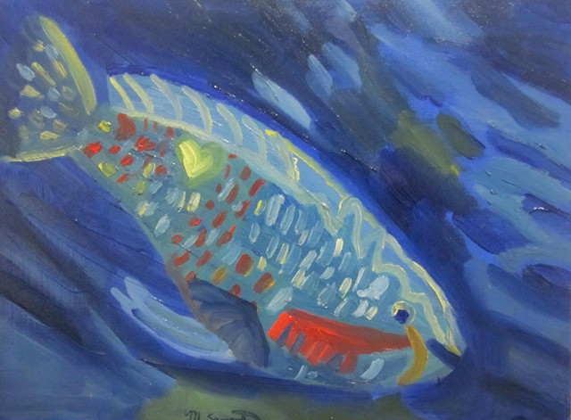 Parrotfish #4 SOLD!!!