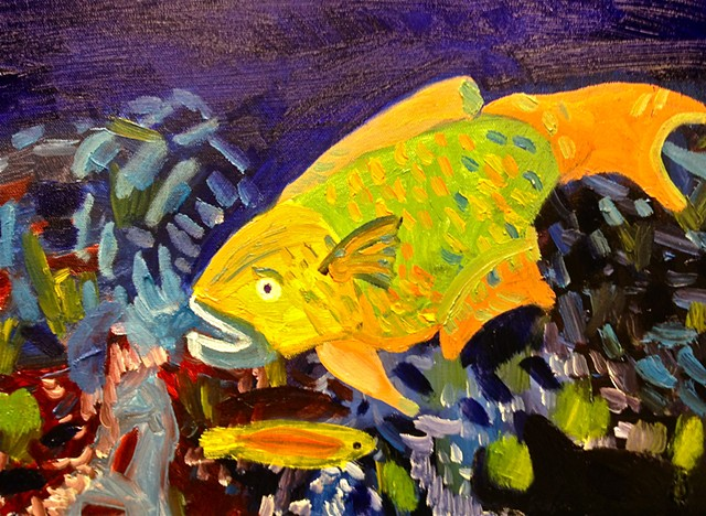 Parrotfish #1 SOLD!!!