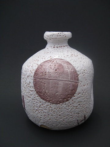Shino Sake Bottle