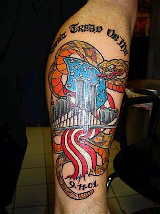 9 /11 tattoo by tatupaul