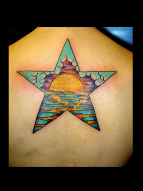 star tattoo by tatupaul