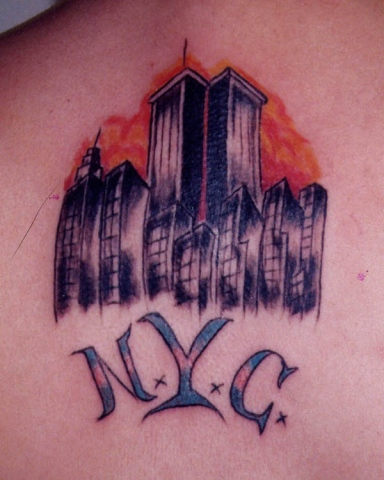 nyc 911 tattoo by tatupaul