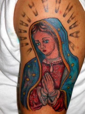 virgin  tattoo by tatupaul