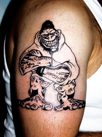 gorilla buiscuits tattoo by tatupaul