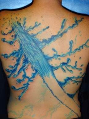 water waves tattoo by tatupaul