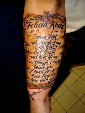 script banner tattoo by tatupaul