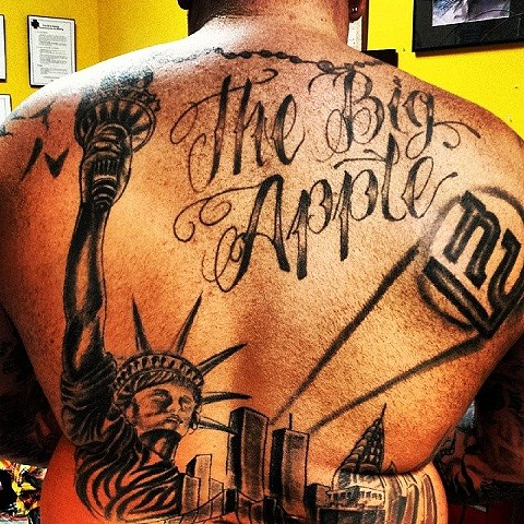 back piece tattoo by tatupaul.com