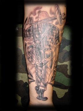skinheads tattoo by tatupaul