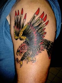 american eagle tattoo by tatupaul