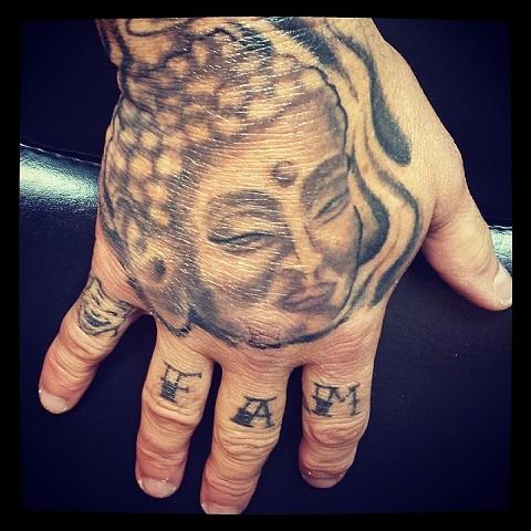 budha tattoo by tatupaul.com