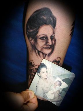 portrait tattoo by tatupaul