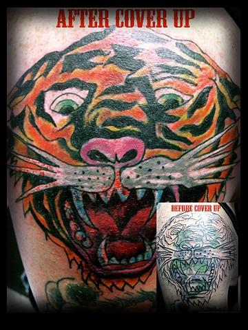 ed hardy tattoo by tatupaul.com