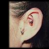 helix piercing by tatupaul