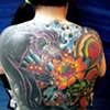 american traditional back piece