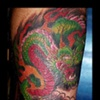 japanese dragon tattoo by tatupaul.com