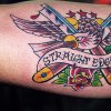 straight edge tattoo by tatupaul