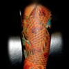 japanese  koi tattoo by tatupaul