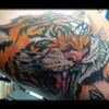 tiger tattoo by tatupaul.com