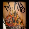 dj tattoo by tatupaul