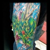 JAPANESE COLORED TATTOO