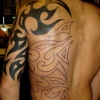 tribal  black sleeve