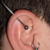 industrial piercing by tatupaul