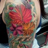 flower tattoo by tatupaul.com