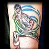 karate kid tattoo by tatupaul.com