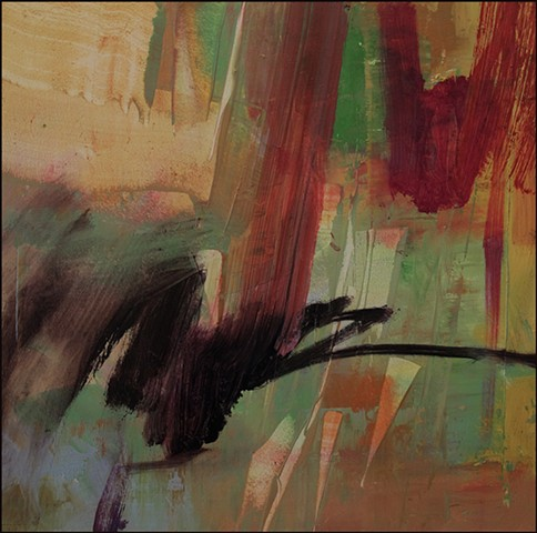 oil, abstract, bold, dynamic, colorful, painterly, brushwork