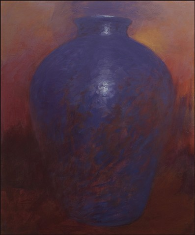vessel, pot, pottery, abstract, figurative, mysterious, urn, vase, earth, landscape, sunset