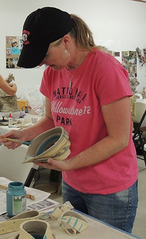 clay ceramics workshop