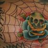 Skull Rose Web
