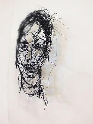 Self Portrait (side view)
