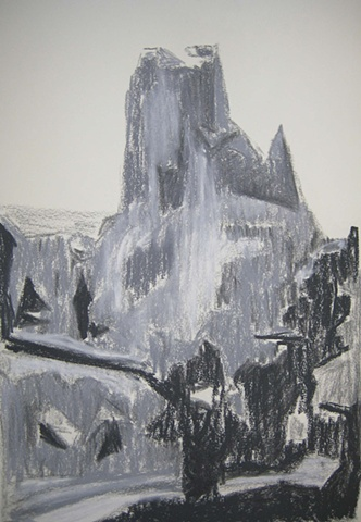 Cathedral Sketch 1