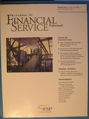 Financial Service Professionals