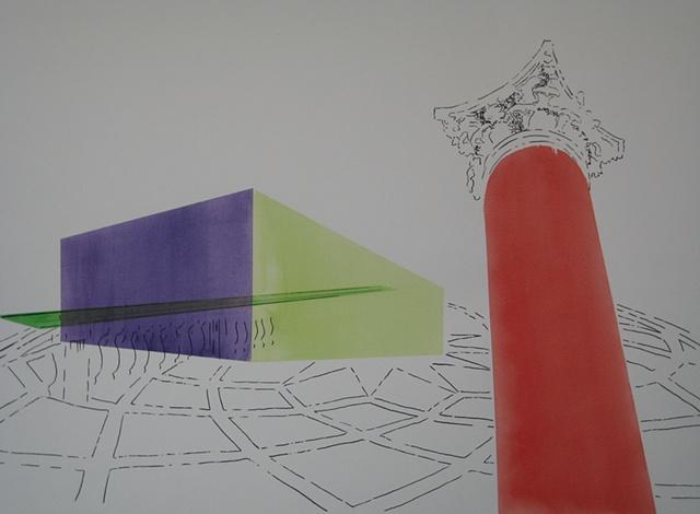 Drawing for Campidoglio