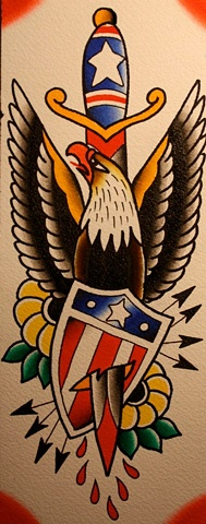 eagle and sheild