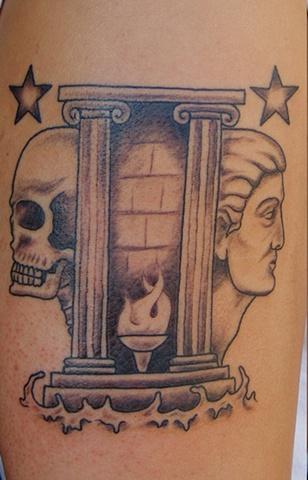 gemini tattoo steven williamson tattoo artist providence rhode island (ri) tattoo Rhode Island Providence