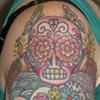 Sugar Skulls on Arm