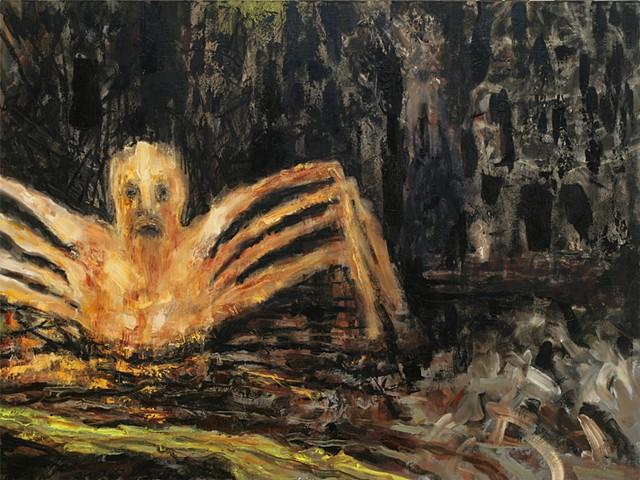 mythology and painting, midas