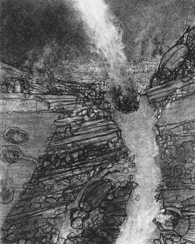 Scarab_Study for Painting