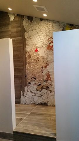 Kate Jessup, mosaic, shower