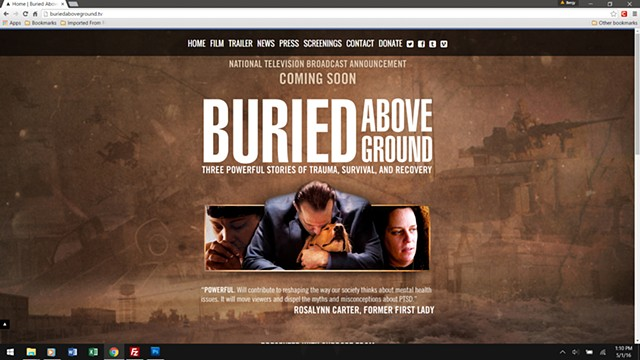 Buried Above Ground - homepage