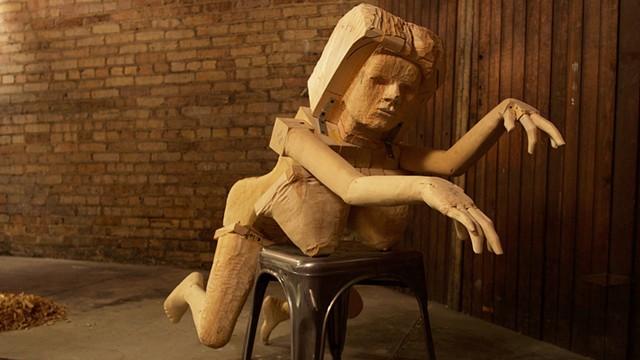 """""""DOTTIE"""" Sculpture (December 2015 In Progress)"""