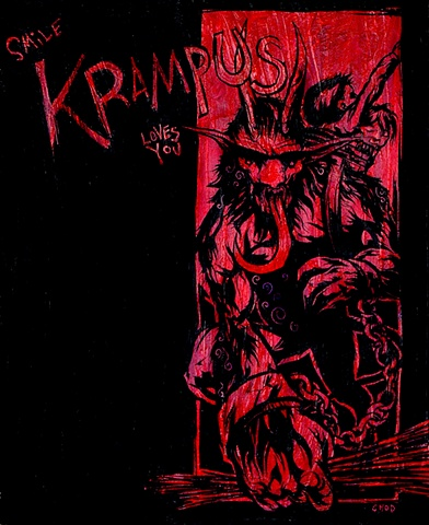 Smile Krampus Loves You